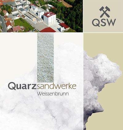 Logo der Quarzsandwerke Weissenbrunn